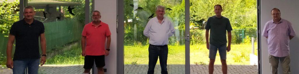 Der neue gewählte FBM-Vorstand. Auf dem Foto fehlt Guido Goliasch.